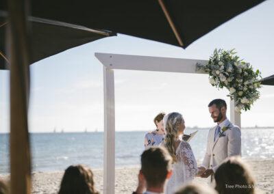 Wedding at The Sandbar Beach Cafe