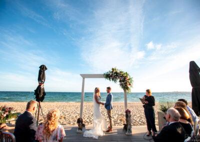 Weddings at The Sandbar Beach Cafe