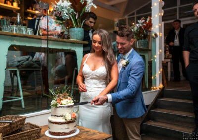 Wedding Cake The Sandbar Beach Cafe