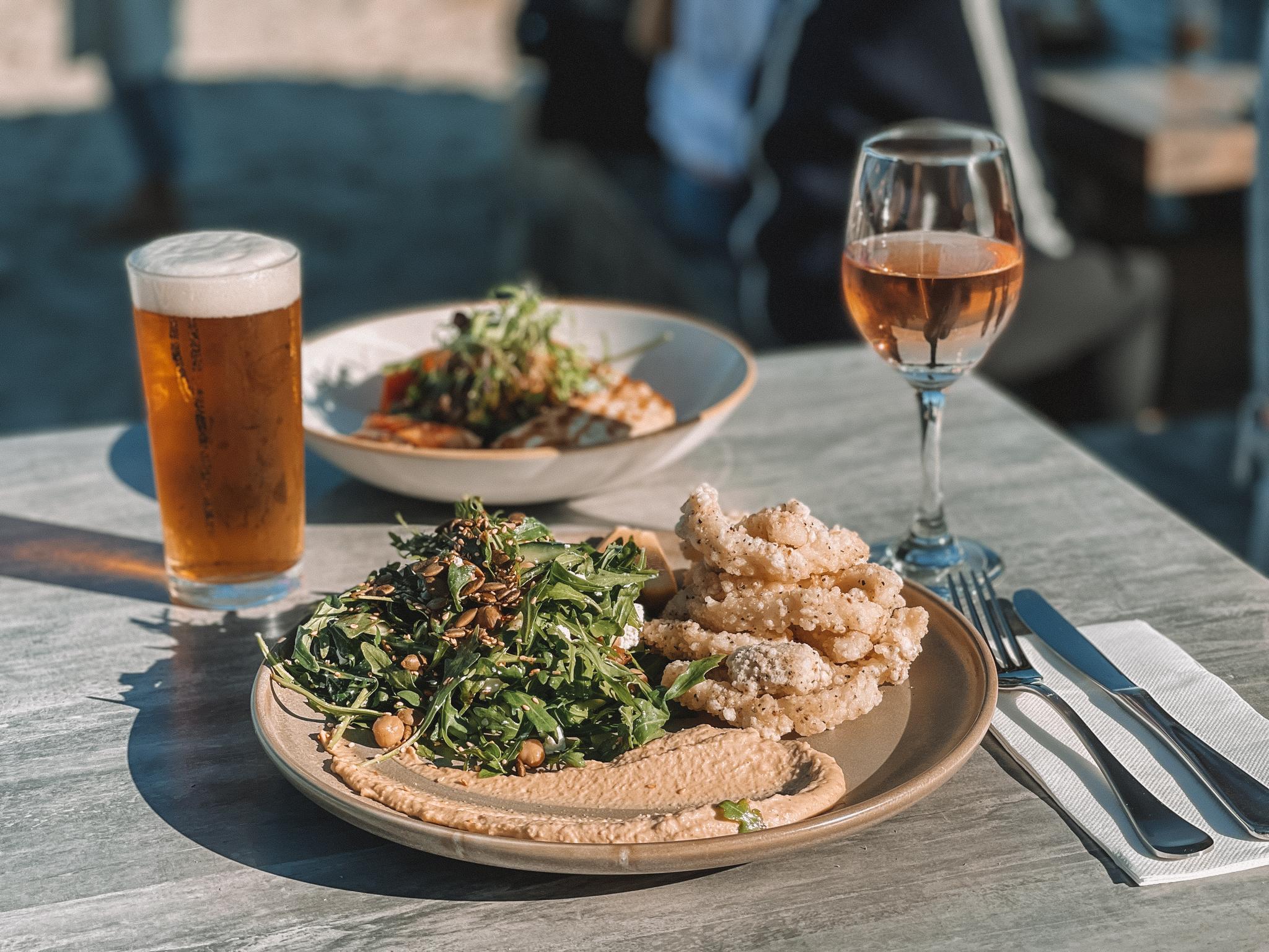 Calamari Lunch Option at The Sandbar